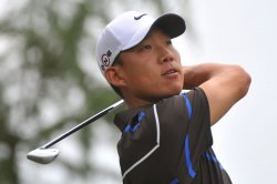 Anthony Kim during the fourth round of the Quail Hollow Tournament in Charlotte