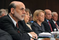 Sheila Bair, Mary Schapiro, Gary Gensler, John Walsh and Ben Bernanke testify on the Dodd-Frank Wall Street Reform Bill in Washington