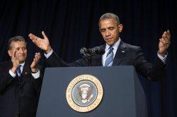 President Barack Obama delivers remarks at the National Prayer Breakfast