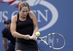 Irina Falconi at the U.S. Open Tennis Championships in New York