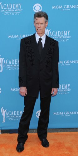 Randy Travis arrives at the ACM Awards in Las Vegas