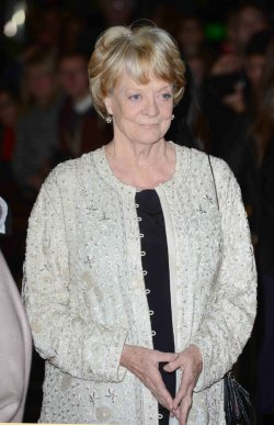 "Maggie Smith attends the Gala Screening of ""Quartet"" in London."