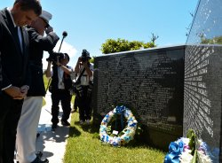"""Battle of Okinawa"" 71th anniversary commemoration"
