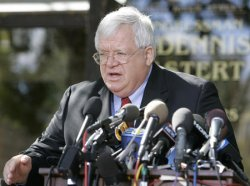 SPEAKER HASTERT HOLDS NEWS CONFERENCE ON HOUSE PAGE SCANDAL