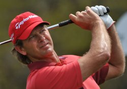 Retief Goosen at the Arnold Palmer Invitational in Orlando