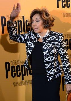 "Diahann Carroll attends the ""Peeples"" premiere in Los Angeles"