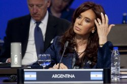 President of Argentina Cristina Fernandez de Kirchner attends the Nuclear Security Summit in Washington