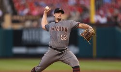 Arizona Diamondbacks starting pitcher Zack Godley