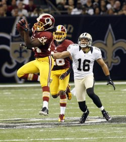 New Orleans Saints vs Washington Redskins at the Mercedes-Benz Superdome in New Orleans
