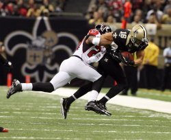 New Orleans Saints vs Atlanta Falcons at the Mercedes-Benz Superdome in New Orleans