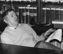 Conservative Columnist William F. Buckley