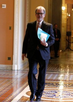 Congressional Leaders Work on a Fiscal Cliff deal in Washington