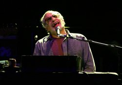 Steely Dan performs in concert in Boca Raton, Florida