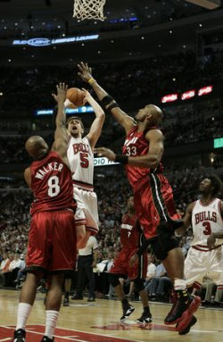 MIAMI HEAT VS CHICAGO BULLS NBA PLAYOFFS