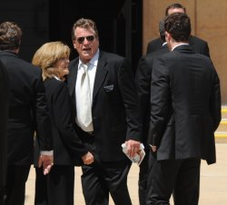 Actress Farrah Fawcett's funeral held in Los Angeles