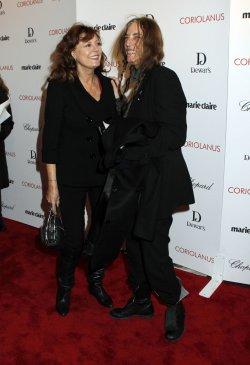 "Susan Sarandon and Patti Smith arrive for the ""Coriolanus"" Premiere in New York"