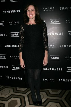"Molly Shannon arrives for the Special Screening of ""Somewhere"" in New York"