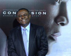 "Dr. Bennet Omalu attends the ""Concussion"" screening in Los Angeles"