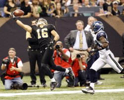New Orleans Saints vs Seattle Seahawks at the Louisiana Superdome.
