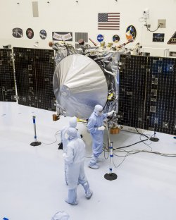 MAVEN readies for launch at Kennedy Space Center in Florida