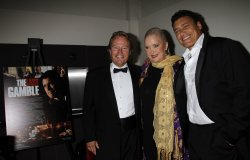 "John Savage, Sally Kirkland and Steven Bauer arrive for the premiere of ""The Last Gamble"" in New York"