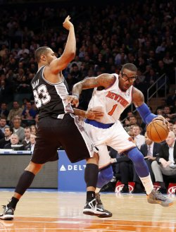 Knicks vs Spurs at Madison Square Garden