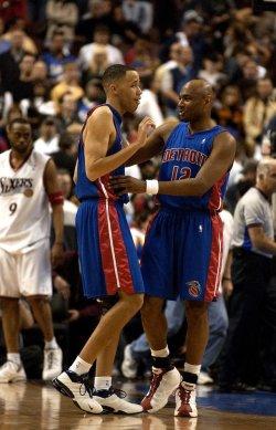 Detroit Pistons at the Philadelphia 76ers