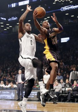 Nets vs Lakers at Barclays Center