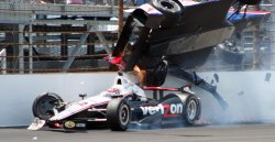 Conway Wrecks Power in Indianapolis 500