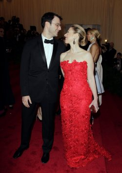 Chelsea Clinton and Marc Mezvinsky at the Costume Institute Gala Benefit at the Metropolitan Museum of Modern Art in New York