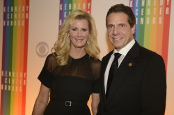 Gov Andrew Cuomo and Sandra Lee arrive for 2013 Kennedy Center Honors Gala in Washington DC