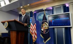 Obama Discusses Discusses Job Growth at the White House