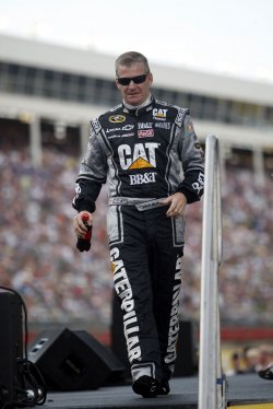 Jeff Burton at the NASCAR All-Star Race at the Charlotte Motor Speedway in Concord, North Carolina