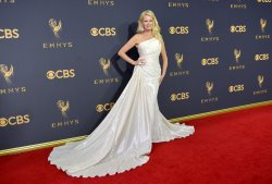 Sandra Lee attends the 69th annual Primetime Emmy Awards in Los Angeles