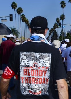 34th annual Labor Day March held in Wilmington, California