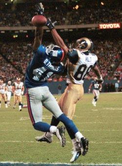 NY Giants vs St. Louis Rams