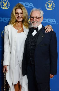 Director Norman Jewison and Lynn St. David-Jewison attend the 65th annual DGA Awards in Los Angeles
