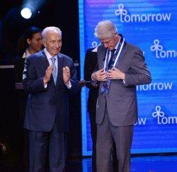 Bill Clinton At Israeli Presidential Conference, Jerusalem
