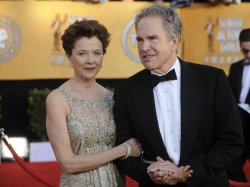 Annette Bening and Warren Beatty arrive at the 17th annual Screen Actors Guild Awards in Los Angeles