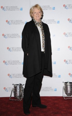 "Maggie Smith attends ""Quartet"" photocall in London."