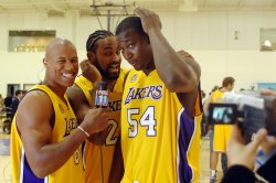 LOS ANGELES LAKERS MEDIA DAY IN EL SEGUNDO, CALIFORNIA