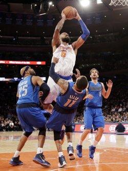 New York Knicks vs Dallas Mavericks