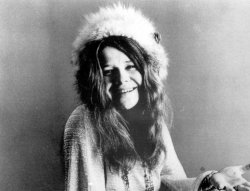 Blues singer Janis Joplin is seen here in this 1969 file photo.