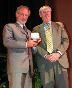 Steven Spielberg receives Smithsonian award