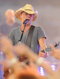 Kenny Chesney performs at Cowboys Stadium in Arlington, Texas