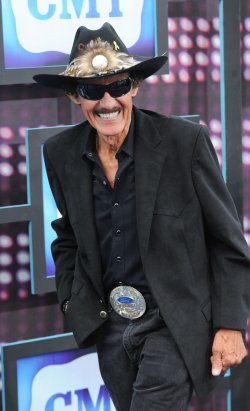 Richard Petty arrives at the CMT Awards in Nashville