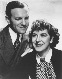 George Burns and wife Gracie Allen in mid 1930s