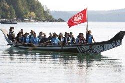 Duke and Duchess of Cambridge visit Haida Gwaii during 2016 Royal Tour