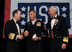 Chairman Mullen attends USO 28th Annual Awards Dinner in Arlington, Virginia