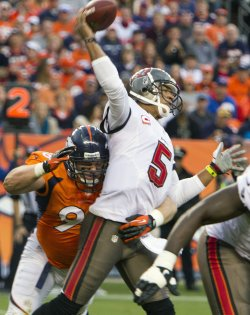 NFL Tampa Bay Buccaneers vs Denver Broncos in Denver